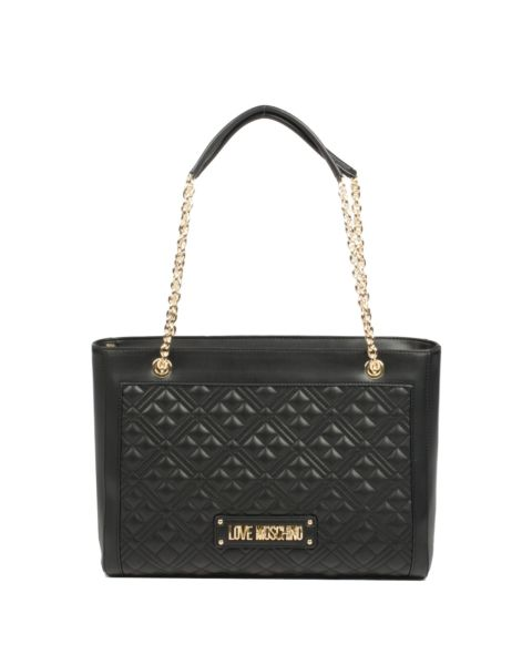 Sac Shopping New Shiny Quilted